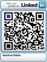 Zet de QR-code van jouw LinkedIn-profiel aan je CV en/of visitekaartje toe te voegen. Maken via website http://blog.qr4.nl/QR-Code-LinkedIn.aspx