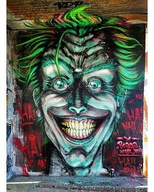 Braga - Joker in Marignane, France, 2016  #poppingupdoc #popsurrealism #pop #popart #streetart #Graffiti #artederua #graffiti #art #artwork #contemporaryart #modernart #realcreativeart #watercolor #urbanart #cores #colores #colors #sprayart #intervention #urbanintervention #graffitiwall #kunst #photooftheday #street #graffitiart #lowbrow #lowbrowart