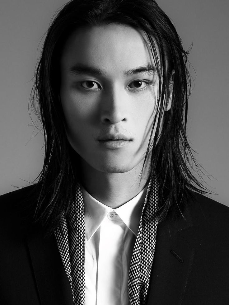 asian guy long hair
