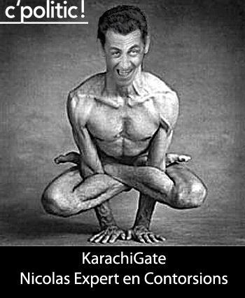 KarachiGate: Sarkozy expert en contorsions