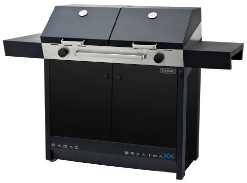 Cadac Braai Maxx 2 Burner Gas BBQ With Accessories