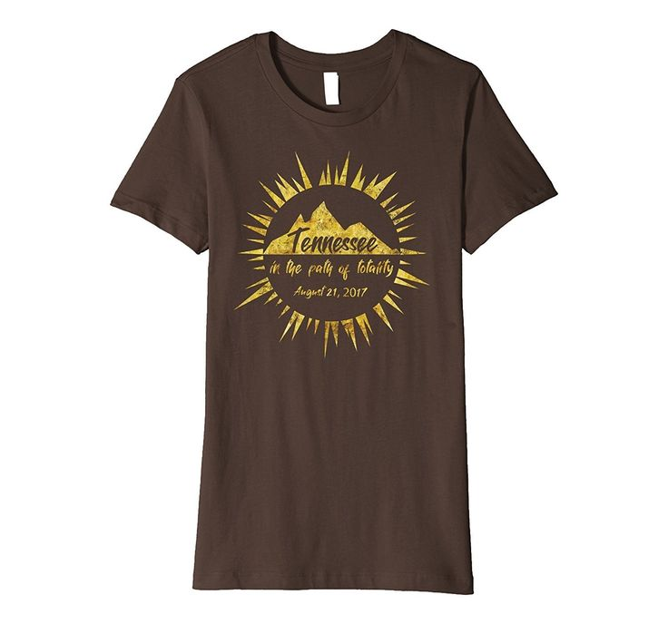 Tennessee In the Path of Totality Solar Eclipse T-shirt