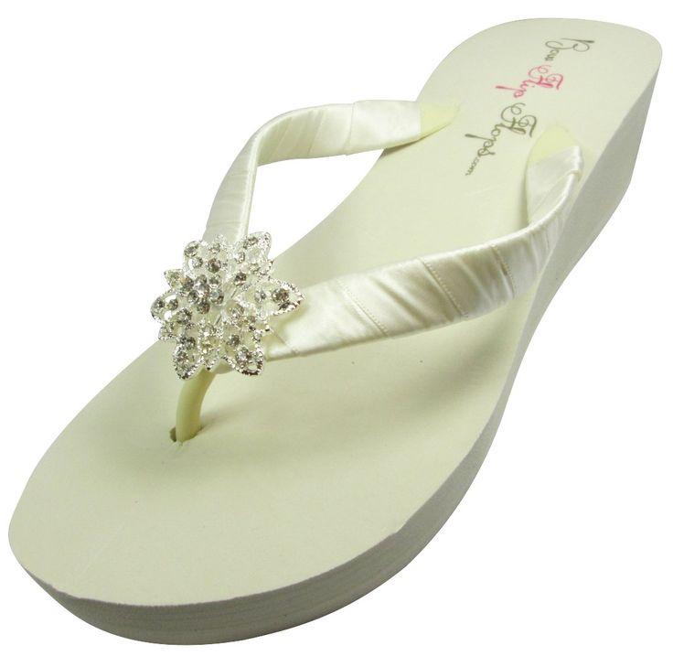 18 Best Bridal Flip Flops On Amazon Images On Pinterest -1951
