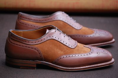 mens spectator shoe. fashion. style