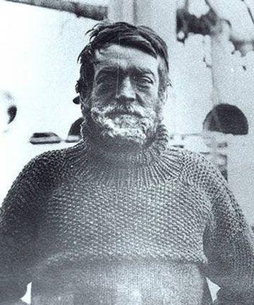 ANTARCTIC EXPLORER: Sir Ernest Shackleton.