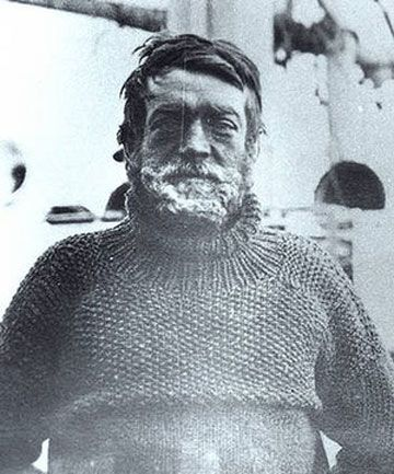 ANTARCTIC EXPLORER: Sir Ernest Shackleton.