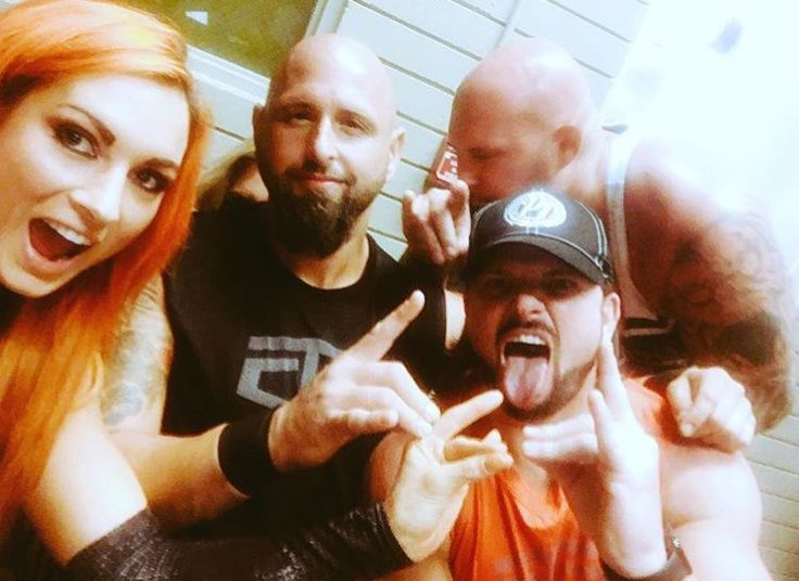 Becky Lynch, AJ Styles, The Club