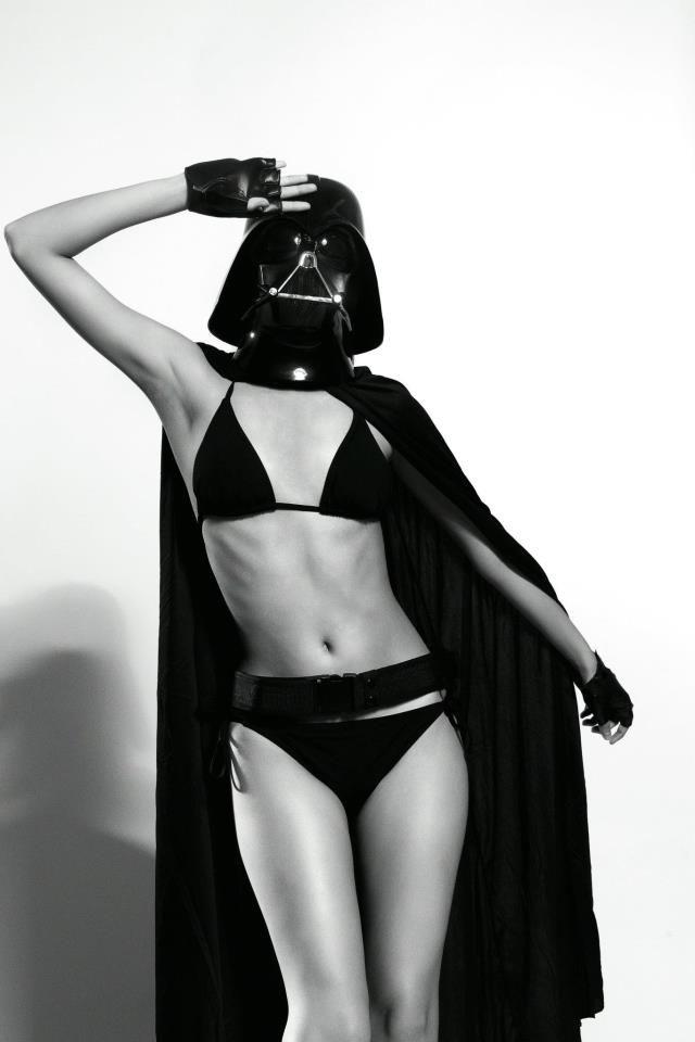 Darth Vader star wars - Female version... ;-)