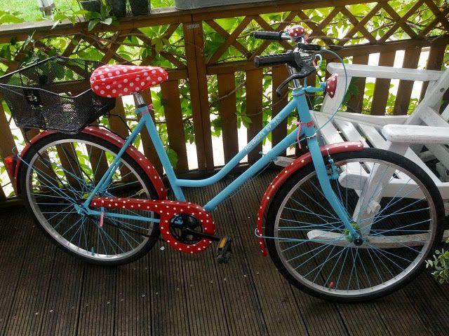 gepimptes Fahrrad vom Sperrmüll