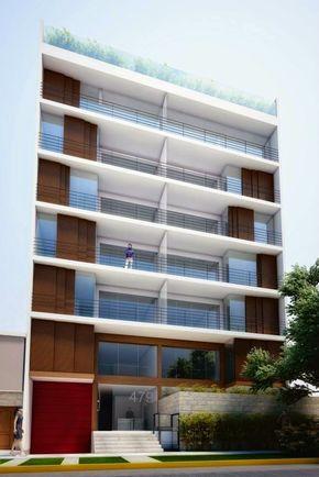 fachadas de edificios de departamentos #fachadasarquitectura