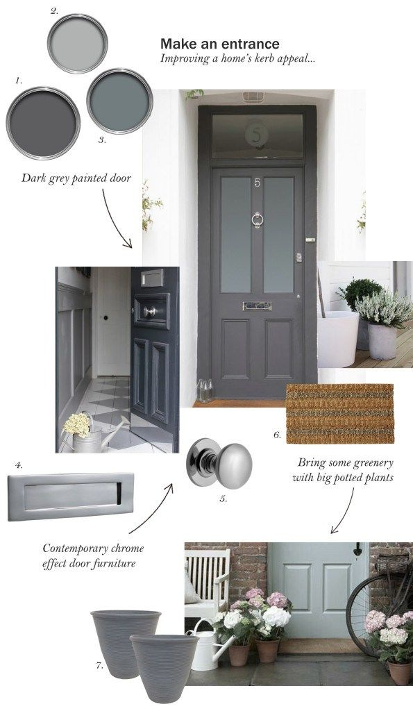"""Not only can a quick spruce-up make your home look more beautiful, it will also make it a nicer place to return to at the end of the day"". - take a peek at Cate St Hill's simple steps to improving your home's kerb appeal."