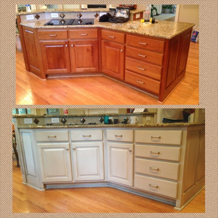 Painted Cabinets Refinishing: 44 Best Cabinet Refinishing Images On Pinterest