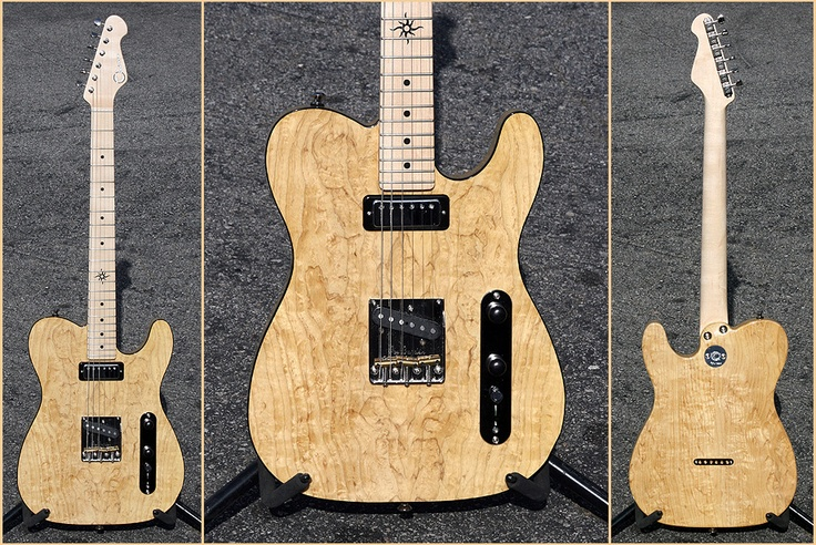 thorn GT20 figured swamp ash no truss rod old growth maple neck