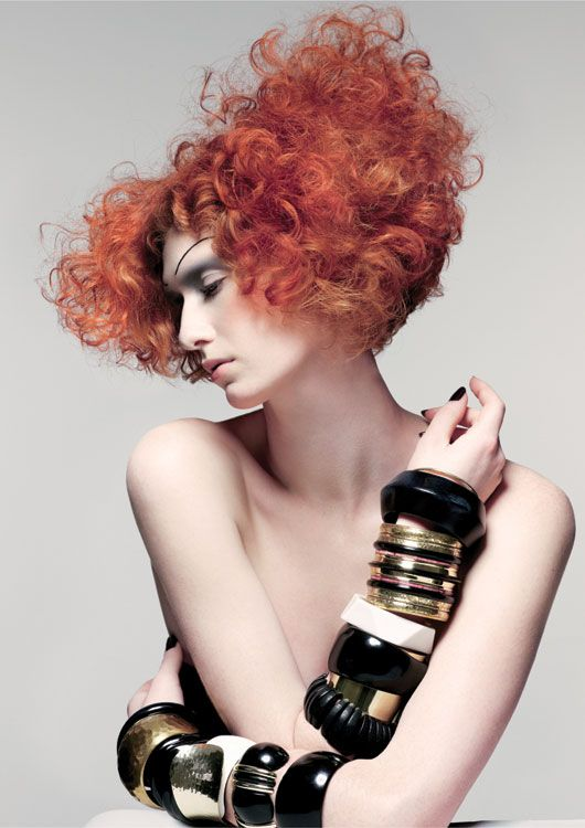 Chaos + Control: Sassoon Academy's Muses Collection | ModernSalon.com