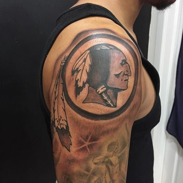 1000 images about redskins ink on pinterest loyalty for Nfl tattoos gallery