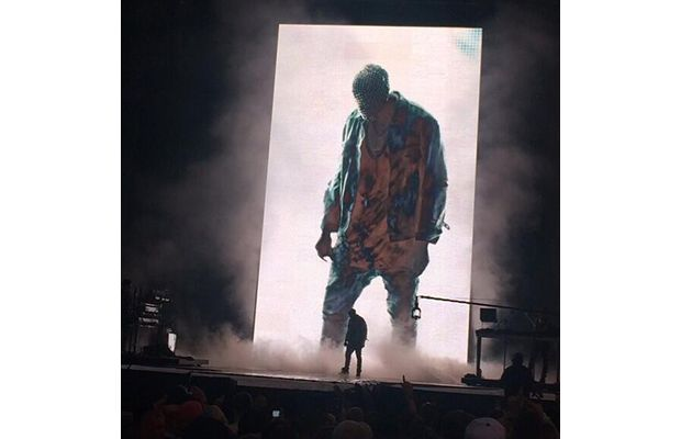 Kanye West Played Drake Songs and Compared Himself to a Porcupine at Wireless Festival in London