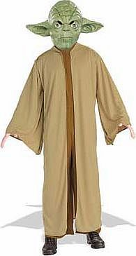 Rubies Star Wars Yoda Costume - 38-42 Inches Youll be sure to look the part in this fantastic fancy dress costume. Perfect for this Halloween or any fancy dress party. Includes: a sleeveless jumpsuit. a hooded robe and a face mask. To fit chest  http://www.comparestoreprices.co.uk//rubies-star-wars-yoda-costume--38-42-inches.asp
