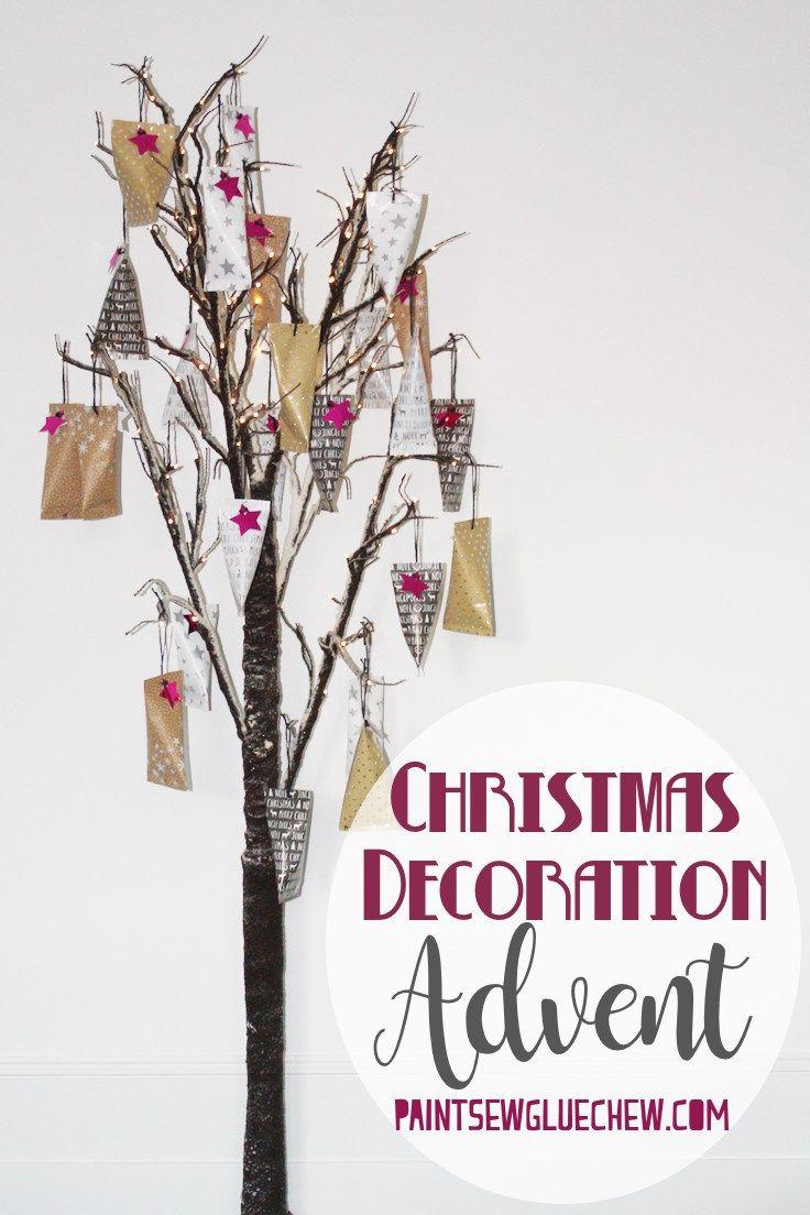 Easy Advent Calendar Craft