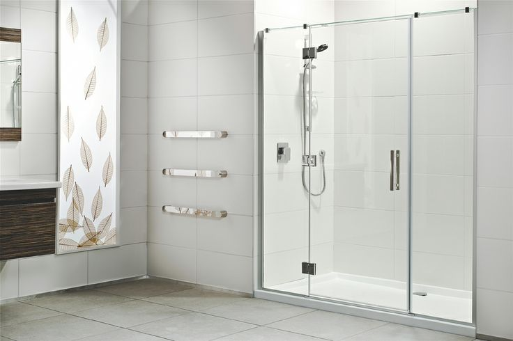 Athena Allora 1000mm Round Lifestyle Shower Enclosure • 1965mm overall shower height including tray • 8mm toughened New Zealand safety glass • Brushed satin aluminium finish • Concealed screw fixings • Opaque glazing gaskets • 3 hinges per door • Chrome hinges, brackets and bar handle • Rear Easy Clean waste to maximise usable space • 65mm low profile tray – easy step in • Smooth anti slip tray • Sandwich construction tray for added strength • $3300 incl GST.