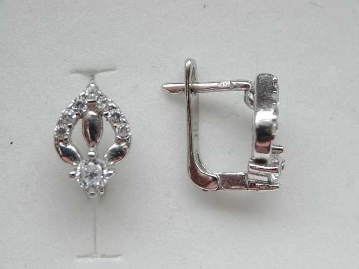 $29 Italian Sterling Silver Earrings, info@bijuterie-online.ro.