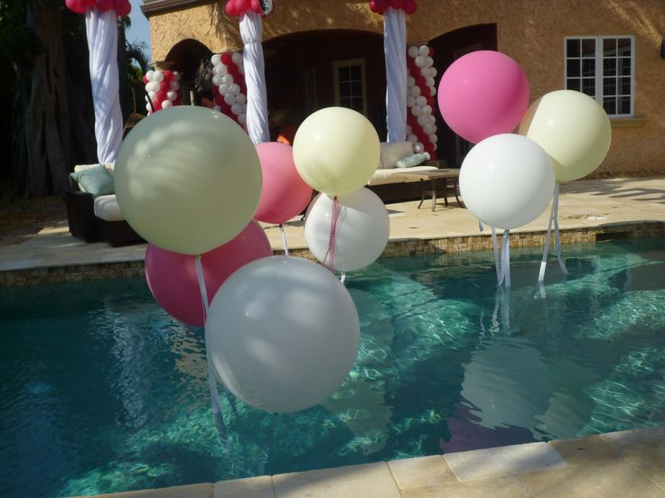 109 best images about balloons beach ball pool dec on pinterest pool floats miami and glow