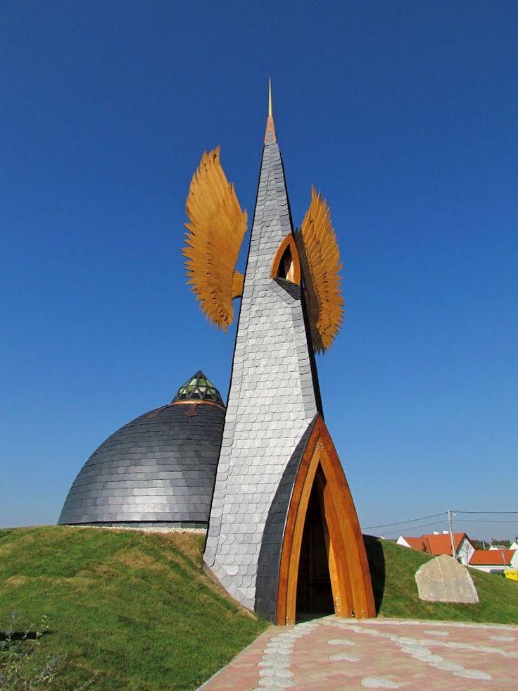 Makovecz-kápolna - Makovecz Chapelle, Devecser