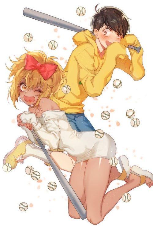 jyushimatsu, osomatsu san, and girlymatsu image