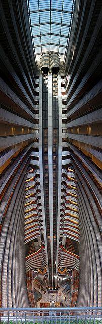 The atrium at the Atlanta Marriott Marquis: photo by Sandy Kemsley