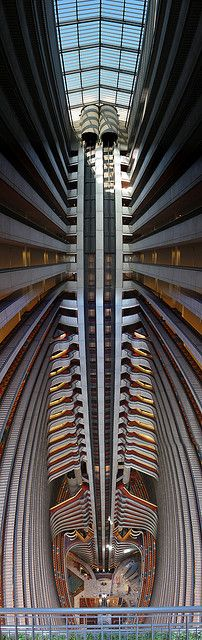The atrium at the Atlanta Marriott Marquis: photo by Sandy Kemsley