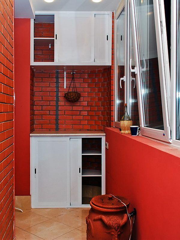 Шкафы для балконов на заказ, цена 66665,70 тг., заказать в .