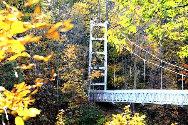 Cornell Suspension Bridge, Ithaca NY