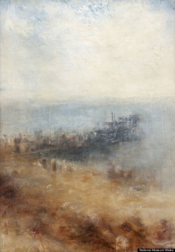 'Margate Jetty' (c. 1840) by Joseph Mallord William Turner. National Museum Wales.