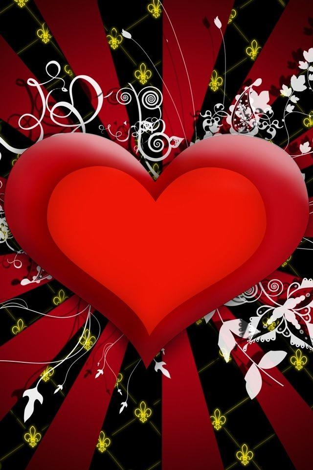 Nice Red Heart Wallpaper Hd - Pocket press 2