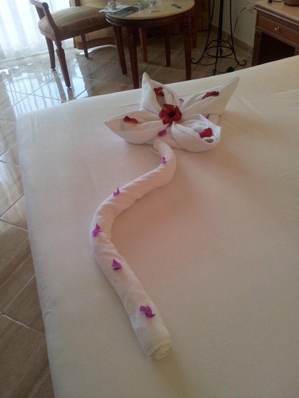 30 Creative Towel Origami Diys See Best Ideas About
