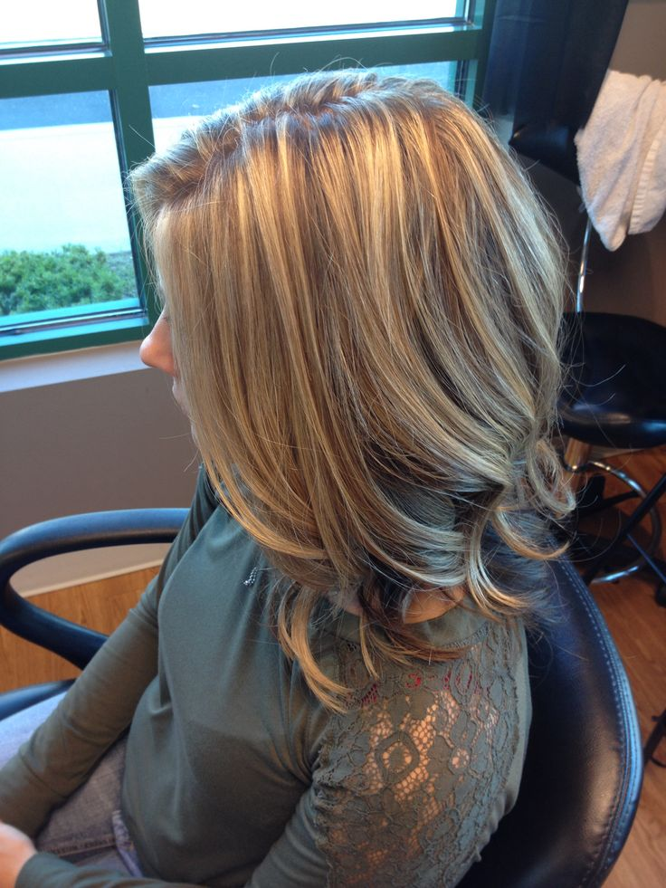 Blonde Highlights Brown Hair Underneath Highlights