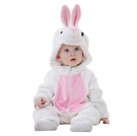 White Rabbit Jumpsuit Baby Rompers **FREE+SHIPPING**