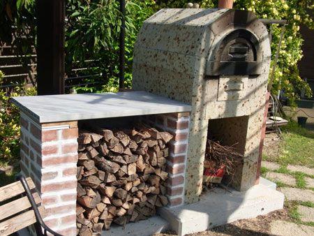 大谷石2段石窯キット グッドデザイン!美味しく焼ける!:DIYピザ窯キットのフリーハンド