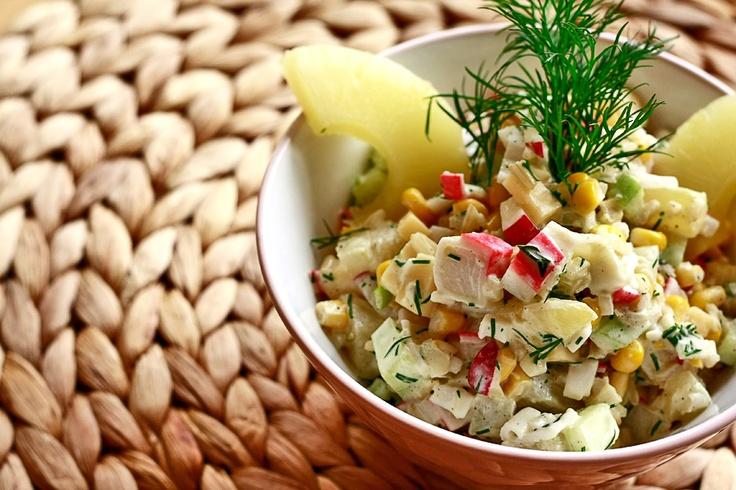 Sałatka krabowa   Crab salad