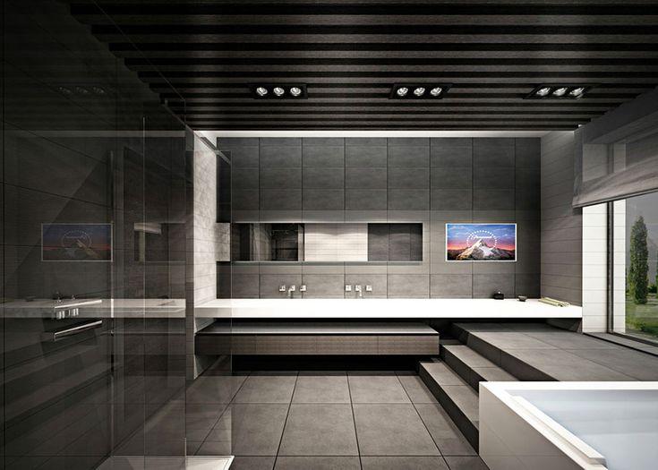 bagno di lusso moderno 11