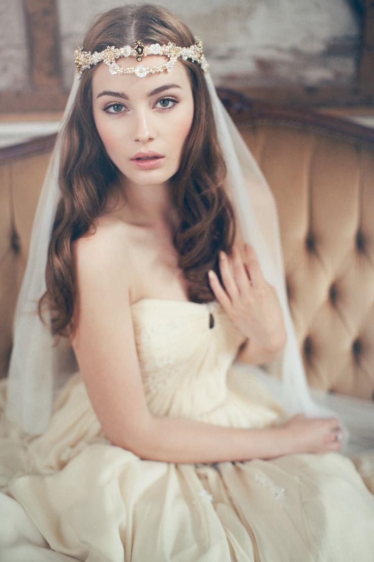 Swoon over jannie baltzer s wild nature bridal headpiece collection - Jannie Baltzer 2015 Collection 1920 S Old World Parisian Charm