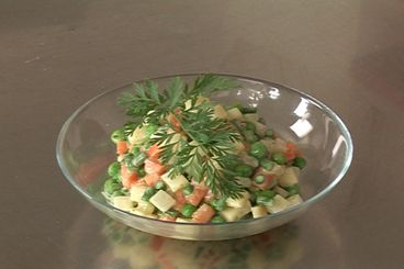 Recette salade macédoine de légumes