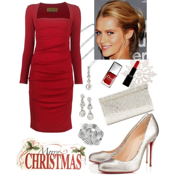 """Christmas Party 1"" by veradediamant on Polyvore"