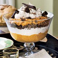 Bowl Holiday Halloween Desserts Pumpkin Recipe Trifles
