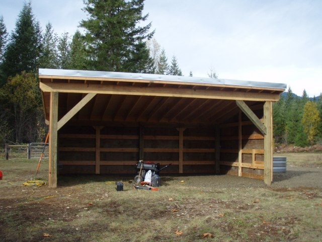1000 images about barn loafing sheds run ins on How to build a small pole barn