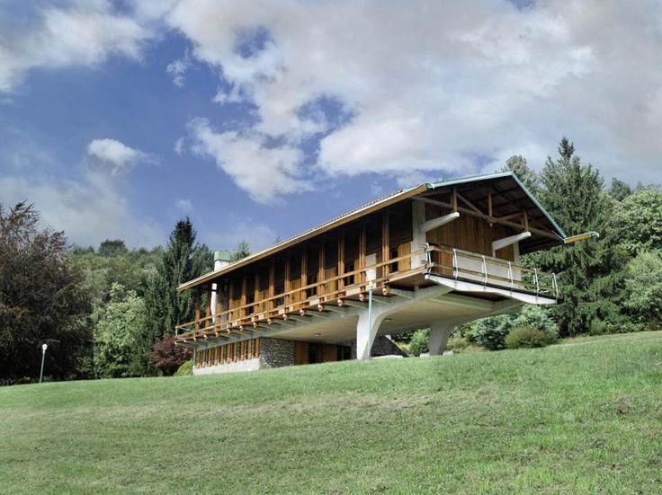 Casa Cattaneo | 1953 | Italy | Designed by Carlo Mollino