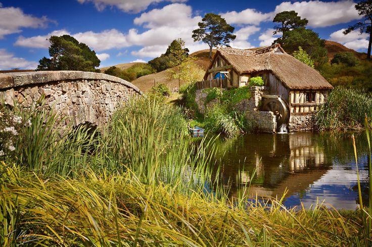 Old Sanyman's Mill in Hobbiton