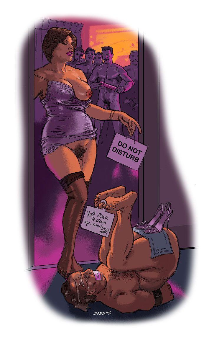 Queening strap on humiliation femdom stories