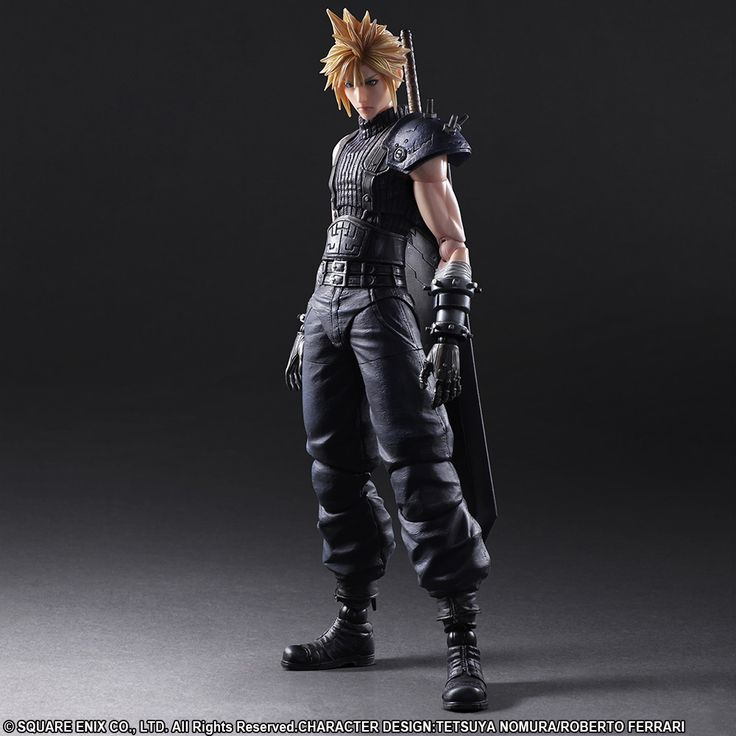 FINAL FANTASY® VII REMAKE PLAY ARTS -KAI- CLOUD STRIFE | Square Enix Online Store