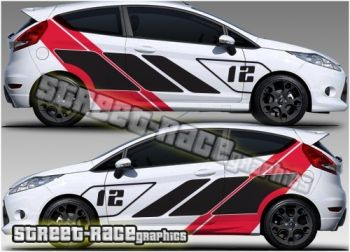 Ford Fiesta ST-R racing livery