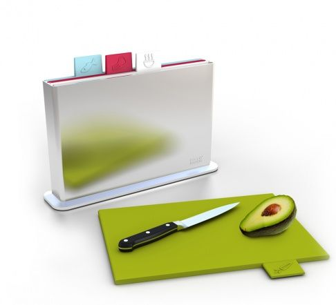 Index Chopping Board by Joseph Joseph, which, I must say, is quite brilliant.